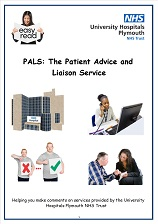 PALS easy read leaflet