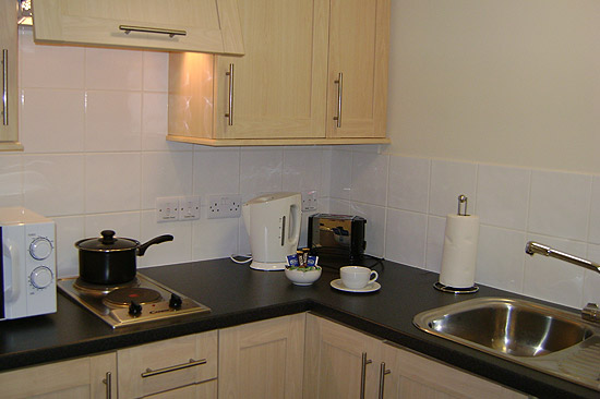 Image of Accommodation (kitchen)