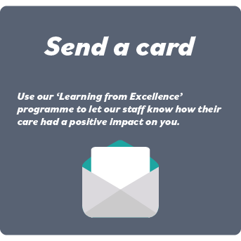 Send a card - Link to form