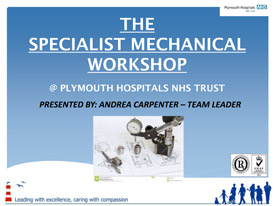 The specialist mechanical workshop presentation