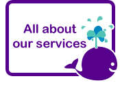Button linking to all about our services