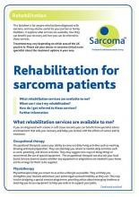 Rehabilitation for Sarcoma Patients