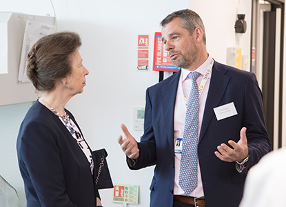 Simon Rule with Princess Anne