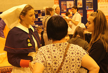 Image of Nurse at Open Day