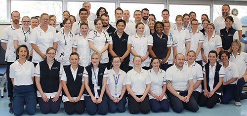 Image of our Physiotherapy Team