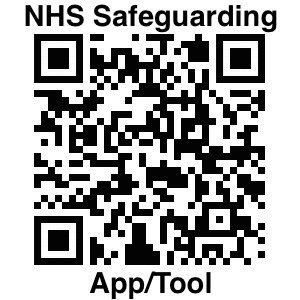 QR Code for Safeguarding App