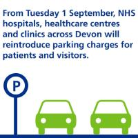 From Tuesday 1 September, NHS hospitals will reintroduce parking charges