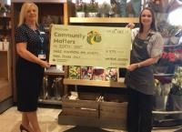 Donation to Eden Unit from Waitrose Saltash