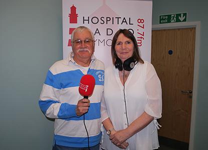 Steve Glanville and Jill Bright