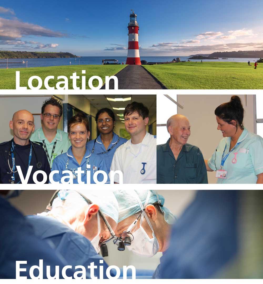 Vacancies at Plymouth Hospitals NHS Trust